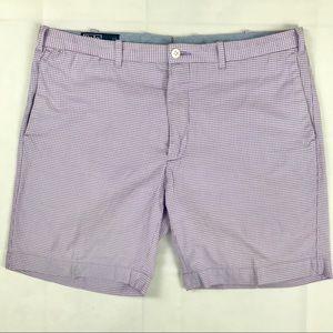 Polo Ralph Lauren Shorts Flat Front Micro Check 35